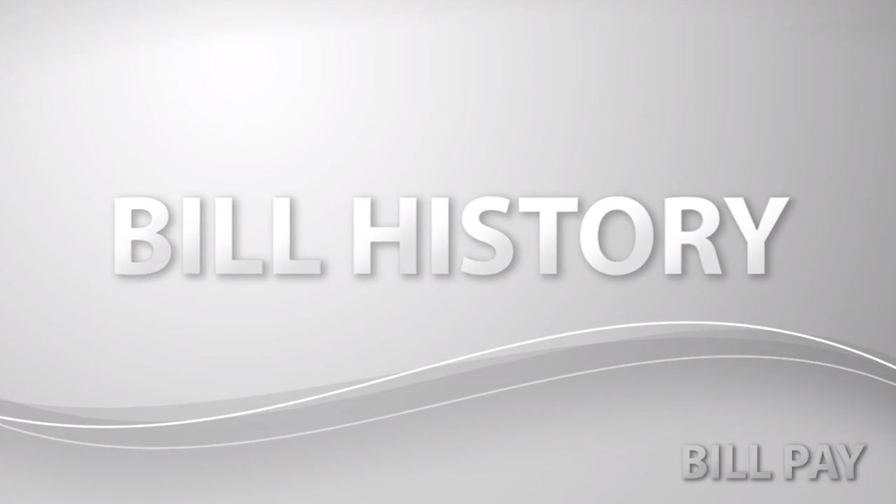 Bill History Advanced