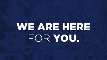 We are here for you