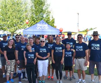 Team ACNB volunteers at Heart Walk
