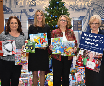 ACNB Holiday Family Outreach Toy Drive