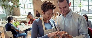 Customer and Restaurant Server