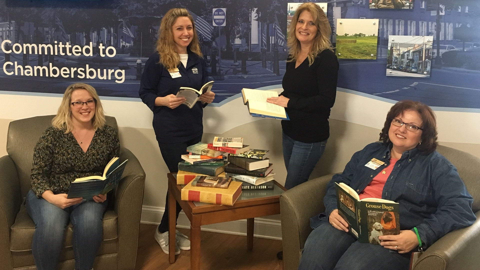 Book Drive Photo - Norland Office