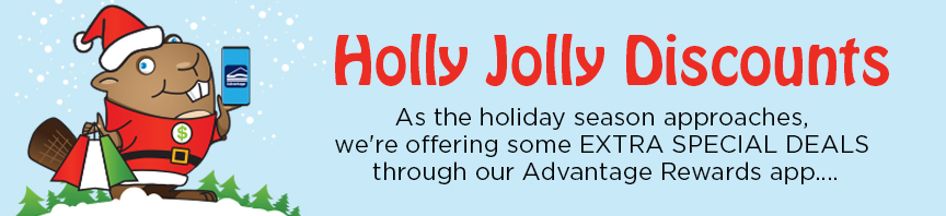 Holly Jolly Discounts Featuring Buckley