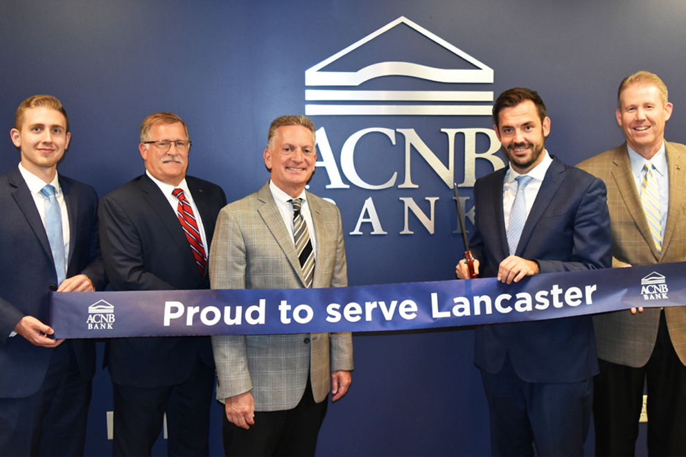 Ribbon Cutting at Lancaster Loan Office