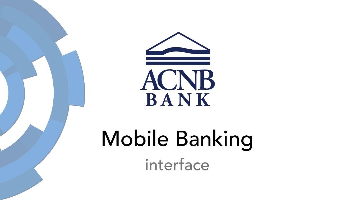 Mobile Banking Interface