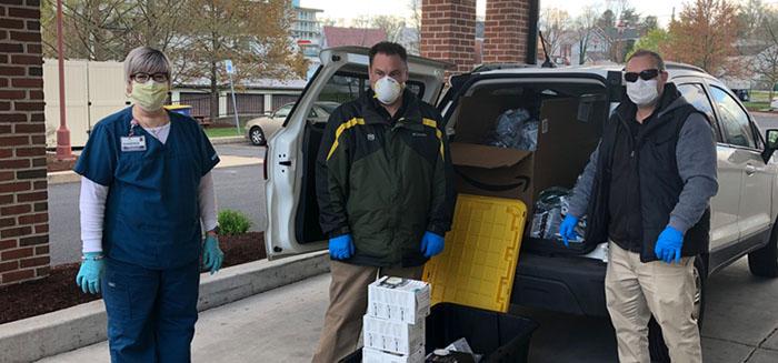 Mask Donation at Local Hospitals