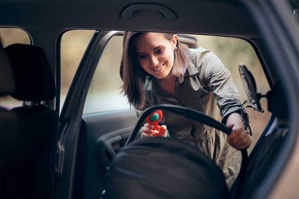 Roadside Assistance is helpful to new parents