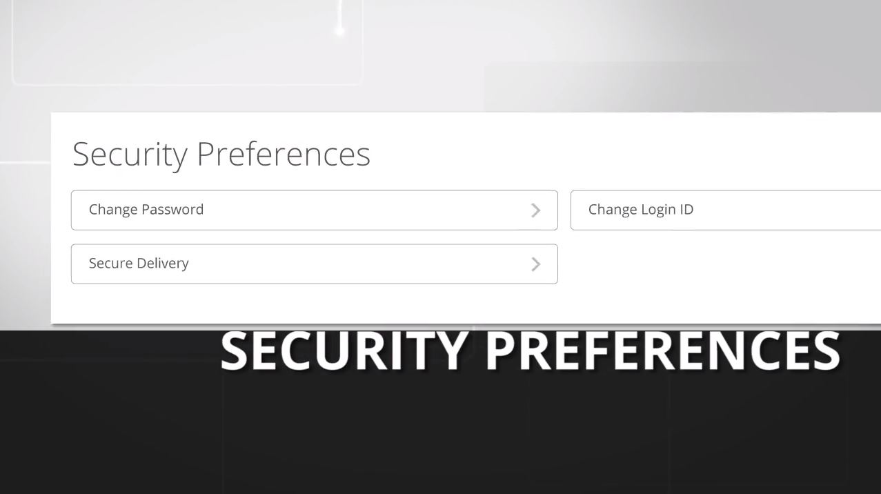 Security Preferences