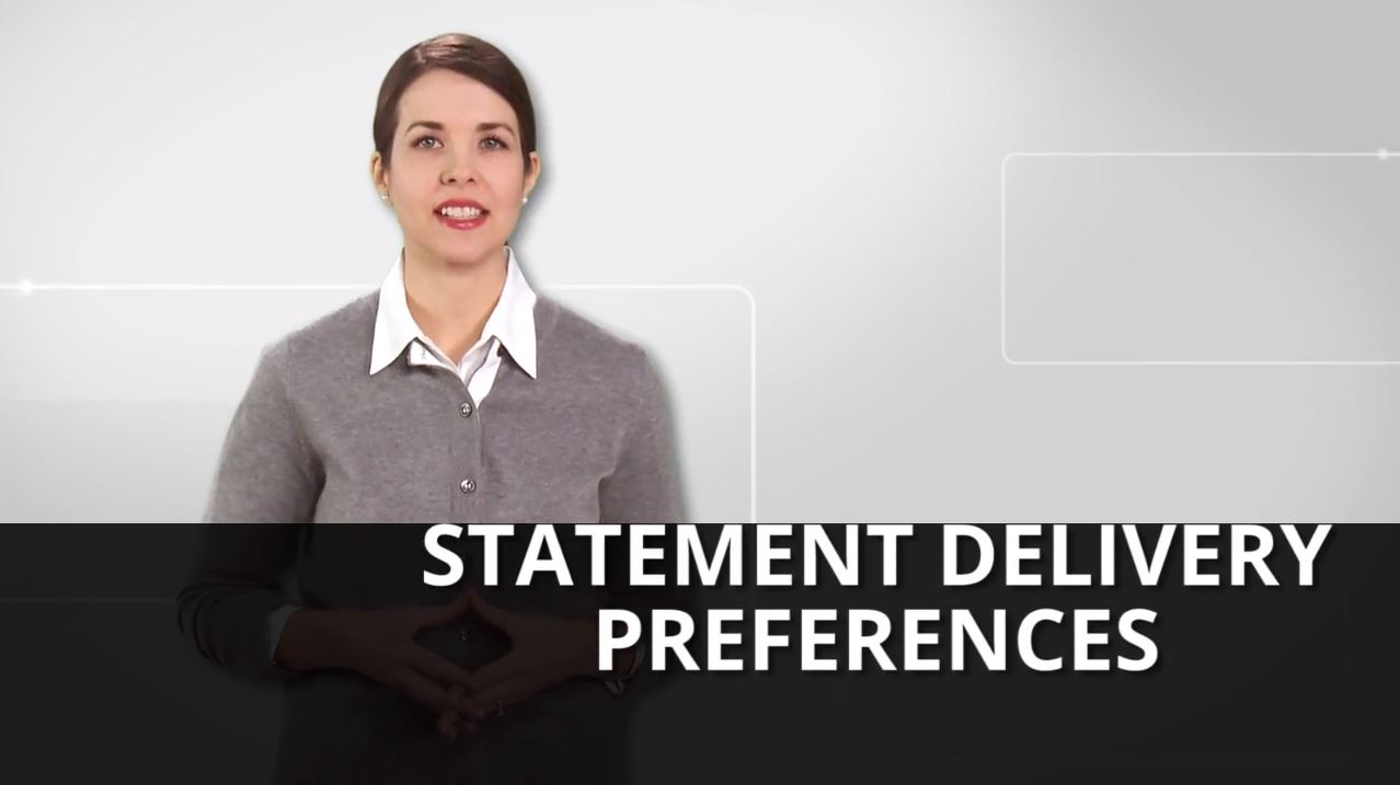 Statement Delivery Preferences