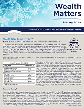 Wealth Matters News January 2020